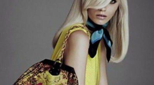 Donatella Versace presenta nuevos diseños de su colección para H&M
