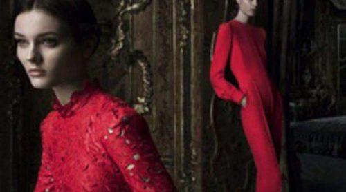 El 'rojo Valentino' protagoniza la campaña otoño/invierno 2012/2013 de la firma