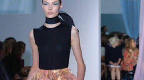 Raf Simons se estrena con éxito con la colección de Dior primavera/verano 2013 en la Semana de la Moda de París