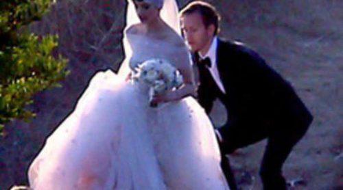 Todo sobre el vestido de novia de Anne Hathaway