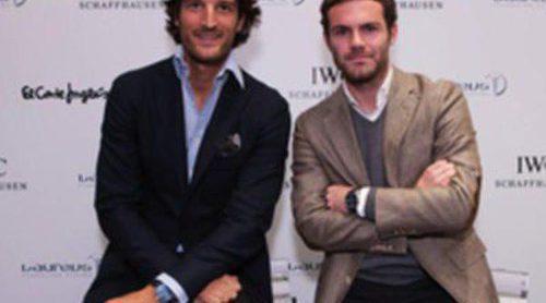 Rafa Medina y Juan Mata presentan el reloj IWC Portofino cronógrafo edición Laureus