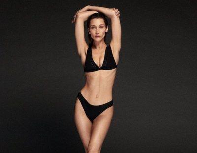 Bella Hadid ya piensa en el verano con la campaña de baño 2020 de Calvin Klein