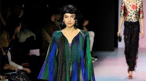 Inspiración mediterránea y colores vibrantes revolucionan París en el desfile de Alta Costura de Armani Privé