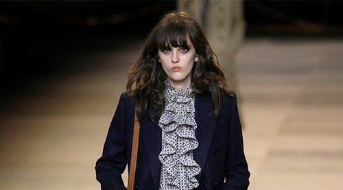 Los años 70 inspiran la nueva colección otoño/invierno 2020-2021 de Hedi Slimane para Celine