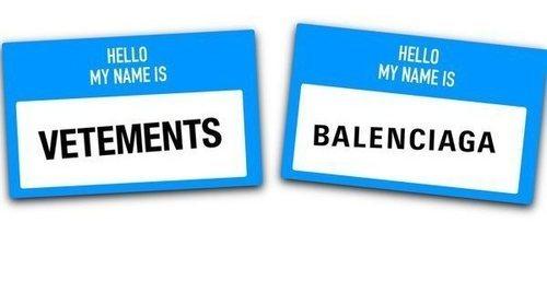 Vetements denuncia públicamente haber sido plagiado por Balenciaga