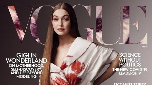 Gigi Hadid protagoniza su primera portada en solitario para Vogue USA tras haber sido madre
