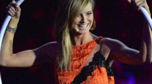 Heidi Klum presenta los MTV EMA y la colección primavera/verano 2013 de Versace sobre el escenario