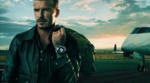 David Beckham presenta el nuevo reloj de la firma Breitling