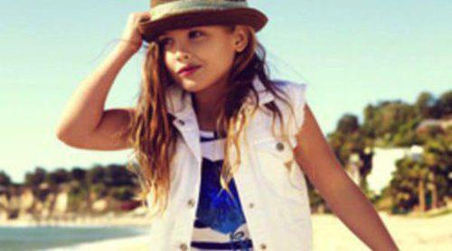 La hija de seis años de Anna Nicole Smith debuta como modelo para Guess