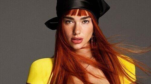 Dua Lipa, imagen de la campaña otoño/invierno 2021 de Versace