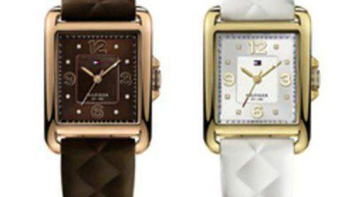 Los relojes y pulseras de Tommy Hilfiger eligen el blanco y el marrón para la colección de invierno 2013