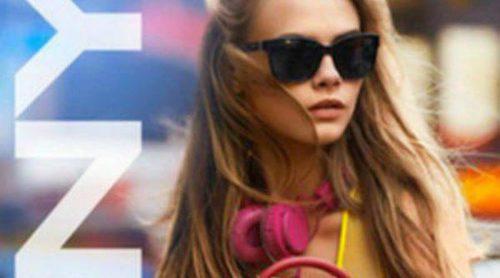 Cara Delevingne, a todo color con la primavera 2013 de DKNY