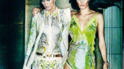 Roberto Cavalli apuesta por el color verde para la primavera/verano 2013