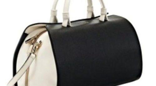 Furla propone bolsos bicolores en blanco y negro para primavera 2013