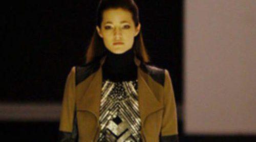 Malena Costa presenta la colección otoño/invierno 2013/2014 de Javier Simorra en la 080 Barcelona Fashion