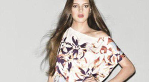 Animal print y flores en la colección primavera/verano 2013 de Sisley
