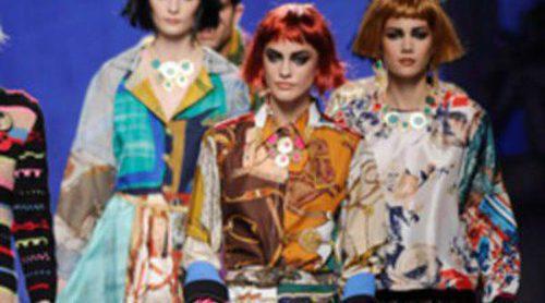 Francis Montesinos presenta una mezcla de estilos y colores en Madrid Fashion Week otoño/invierno 2012/2013