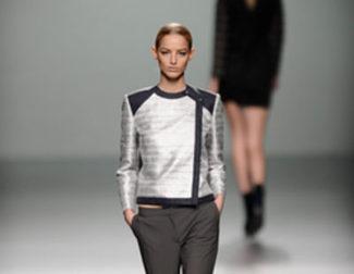 Rabaneda debuta en Madrid Fashion Week con un colección otoño/invierno 2013/2014 de superposiciones