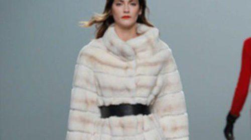 Talle alto, volumen, pieles, cuero, superposición: así es el otoño/invierno 2013/2014 de Madrid Fashion Week