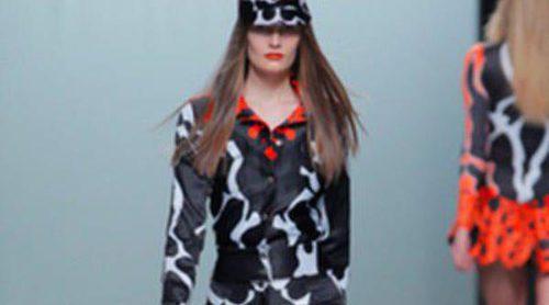 María Escoté y Martín Lamothe crean magia con los colores del otoño/invierno 2013/2014 en Madrid Fashion Week