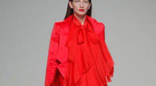 Eugenio Loarce y Pablo Erroz se visten de rojo en El Ego de Madrid Fashion Week otoño/invierno 2013/2014