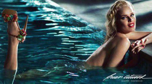 Eva Herzigová se convierte en Marilyn Monroe para la primavera/verano 2013 de Brian Atwood