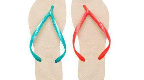 Oysho completa su colección de baño 2013 con una línea de calzado de Havaianas