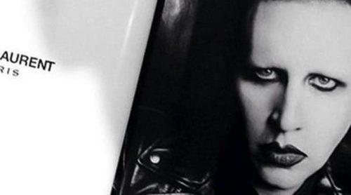Yves Saint Laurent da un giro radical y ficha a Marilyn Manson como embajador