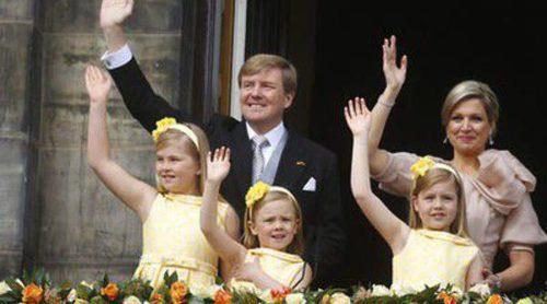 Los vestidos españoles, los favoritos de las pequeñas princesas de Holanda