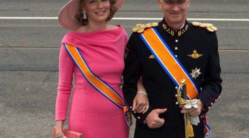 Matilde de Bélgica y Victoria de Suecia, entre las princesas mejor vestidas en la coronación del Rey de Holanda