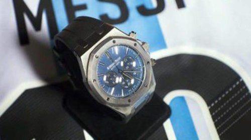 A subasta un reloj exclusivo Audemars Piguet diseñado por Leo Messi