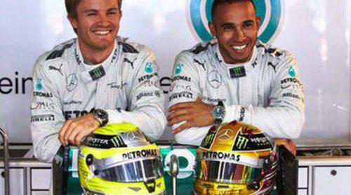 Lewis Hamilton y Nico Rosberg, nuevos embajadores de IWC Schaffhausen