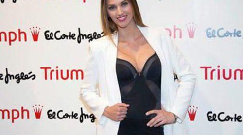 Helen Lindes posa como embajadora de Triumph para presentar la colección 'Shape Sensation'