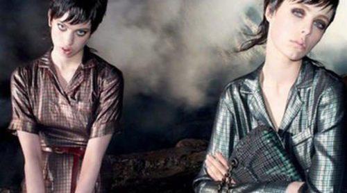 Edie Campbell y Lily McMenamy posan como gemelas para la campaña otoño/invierno 2013 de Marc Jacobs