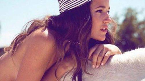 Malena Costa presenta la colección primavera/verano 2013 de turbantes de Rosebell