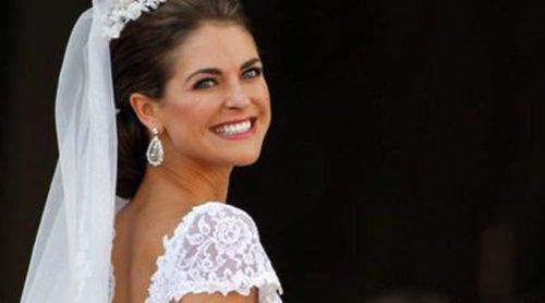 El vestido de novia de Magdalena de Suecia: todos los detalles de su Valentino