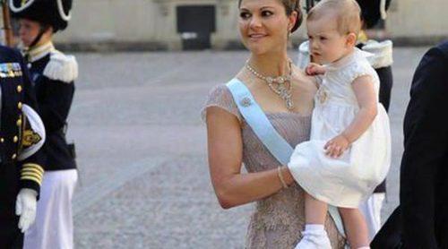 Victoria de Suecia y María de Dinamarca, las mejor vestidas de la boda de Magdalena de Suecia y Chris O'Neill