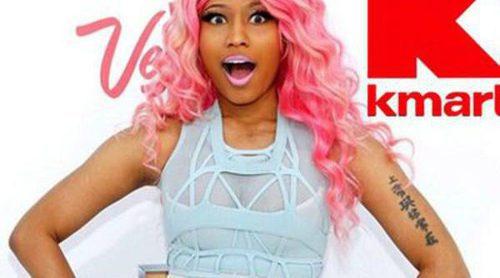 Nicki Minaj debuta como diseñadora y crea una línea para Kmart