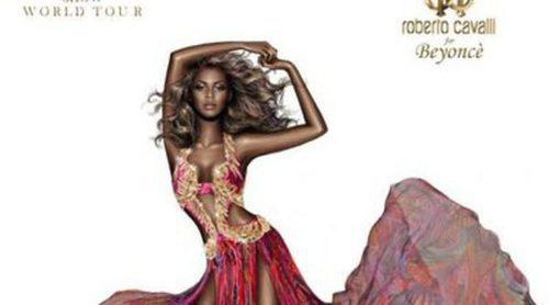 Roberto Cavalli lanza una polémica imagen de Beyoncé con uno de sus diseños
