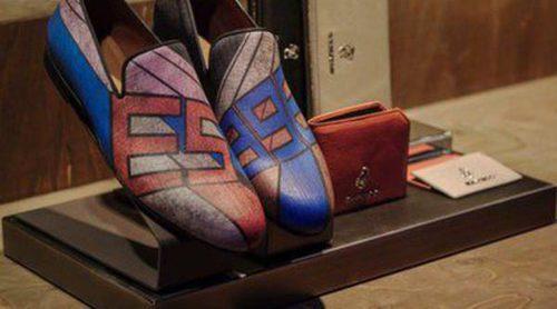 Jimmy Choo reinventa los clásicos modelos de calzado masculino en su colección primavera/verano 2014