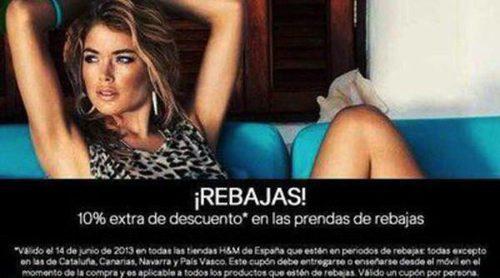 Rebajas 2013 en H&M: la firma reduce al 60% el precio de las prendas de sus colecciones estivales