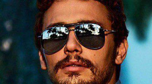 El James Franco más sexy posa como imagen de la nueva colección 'Gucci Eyewear'