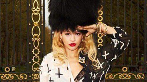 Primeras imágenes de Rita Ora como imagen de la nueva colección de Material Girl