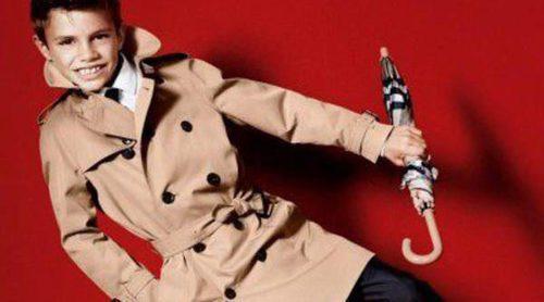 El fichaje de Romeo Beckham hace incrementar un 13% las ventas de Burberry
