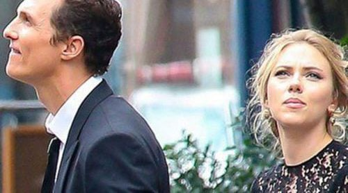 Scarlett Johansson y Matthew McConaughey derrochan glamour en el rodaje de un spot de Dolce & Gabbana