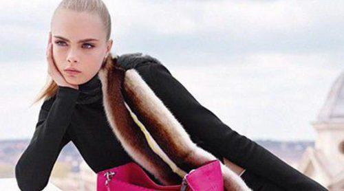 Fendi ficha a Cara Delevingne para su colección otoño/invierno 2013/2014