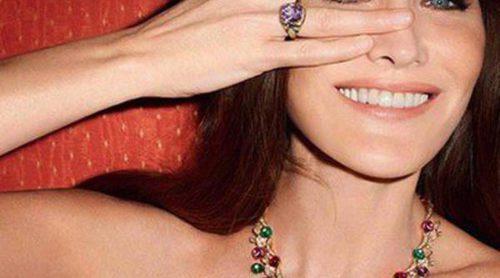 Carla Bruni regresa al mundo de la moda como embajadora de Bulgari