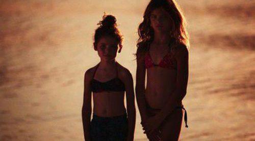 IKKS propone un verano al estilo glam en la línea infantil de su colección de baño primavera/verano 2013