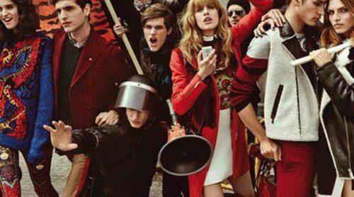 Roberto Cavalli presenta su nueva colección con una campaña muy polémica
