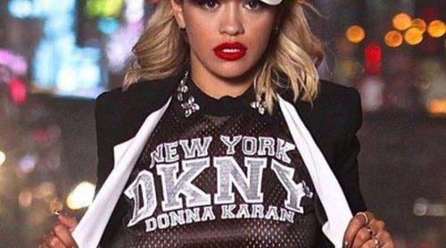 Rita Ora, nueva imagen de la colección Resort 2014 de DKNY
